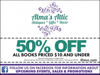 50% Off China All Books Priced $10 And Under